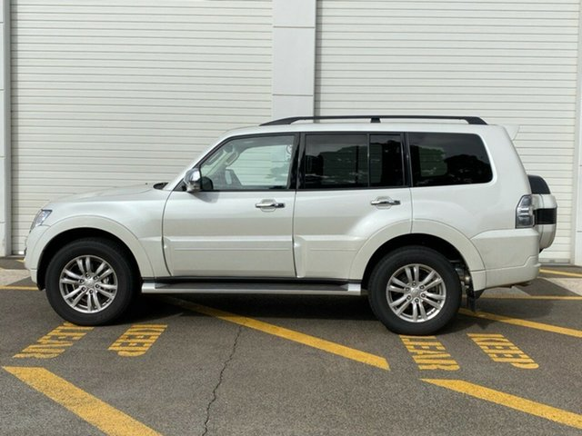 Demo Mitsubishi Pajero NX MY19 Exceed, 2019 Mitsubishi Pajero NX MY19 Exceed Warm White 5 Speed Sports Automatic Wagon