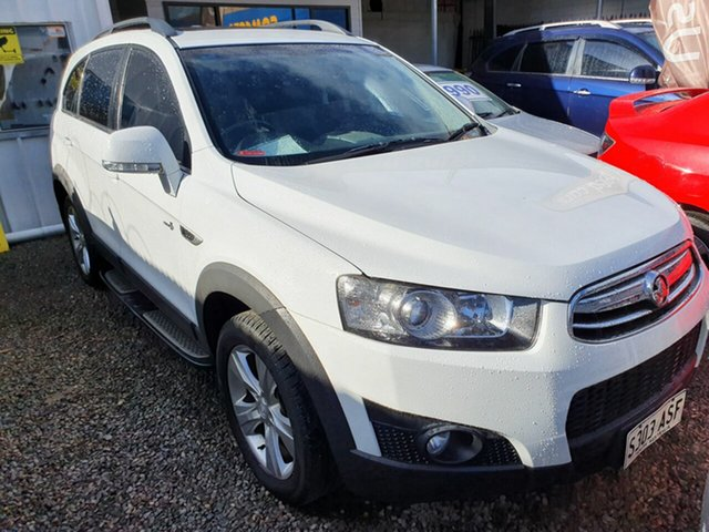 Used Holden Captiva CG Series II 7 AWD CX, 2012 Holden Captiva CG Series II 7 AWD CX White 6 Speed Sports Automatic Wagon