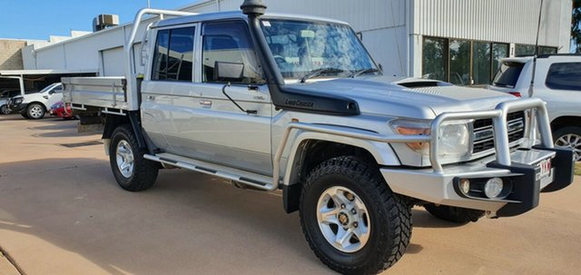 Used Toyota Landcruiser VDJ79R MY12 Update GXL (4x4), 2014 Toyota Landcruiser VDJ79R MY12 Update GXL (4x4) 5 Speed Manual Double Cab Chassis