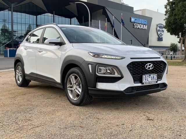 Demo Hyundai Kona OS.3 Active, 2019 Hyundai Kona OS.3 Active White Sports Automatic Wagon