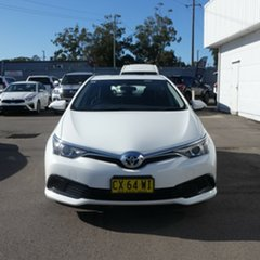 2017 Toyota Corolla ZRE182R Ascent S-CVT Glacier White 7 Speed Constant Variable Hatchback.