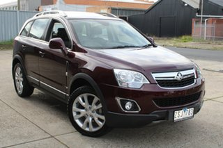 2013 Holden Captiva CG MY13 5 LTZ (FWD) Maroon 6 Speed Automatic Wagon.