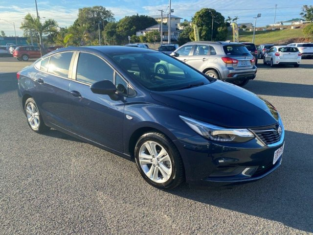 Used Holden Astra BL MY17 LS+, 2017 Holden Astra BL MY17 LS+ Blue 6 Speed Sports Automatic Sedan