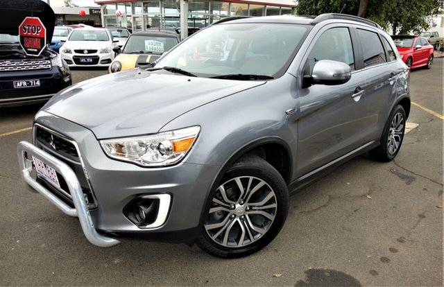 Used Mitsubishi ASX XC MY17 XLS 2WD, 2016 Mitsubishi ASX XC MY17 XLS 2WD Grey 6 Speed Constant Variable Wagon
