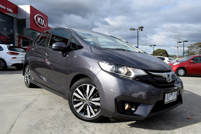 Used Honda Jazz GF MY15 VTi-S, 2014 Honda Jazz GF MY15 VTi-S Grey 1 Speed Constant Variable Hatchback