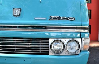 1976 Nissan E20 CAMPER Camper Turquoise & White 4 Speed Manual Van