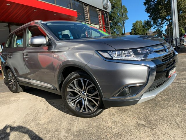 Used Mitsubishi Outlander ZL MY18.5 ES AWD, 2018 Mitsubishi Outlander ZL MY18.5 ES AWD Grey 6 Speed Constant Variable Wagon