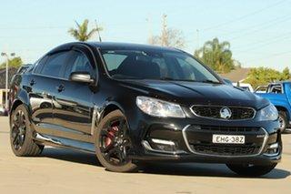 2015 Holden Commodore VF II SS-V Redline Black 6 Speed Automatic Sedan.