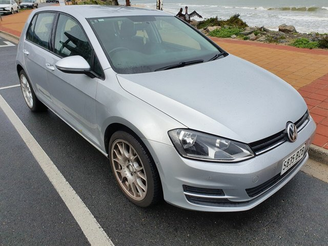 Used Volkswagen Golf VII MY16 92TSI DSG, 2015 Volkswagen Golf VII MY16 92TSI DSG Silver 7 Speed Sports Automatic Dual Clutch Hatchback
