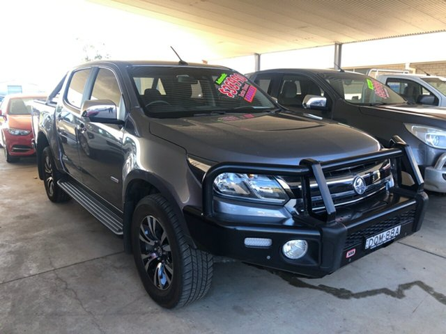 Used Holden Colorado RG MY17 LTZ (4x4), 2017 Holden Colorado RG MY17 LTZ (4x4) Satin Steel Grey 6 Speed Automatic Crew Cab Pickup
