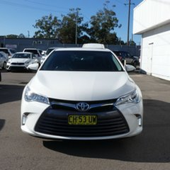 2016 Toyota Camry AVV50R Altise Diamond White 1 Speed Constant Variable Sedan Hybrid.