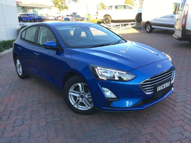 Demo Ford Focus SA 2019.75MY Trend, 2019 Ford Focus SA 2019.75MY Trend Desert Island Blue 8 Speed Automatic Hatchback