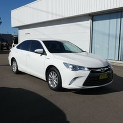 2016 Toyota Camry AVV50R Altise Diamond White 1 Speed Constant Variable Sedan Hybrid