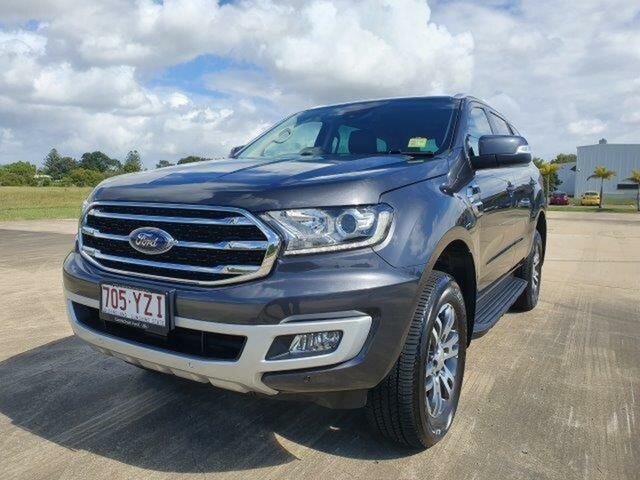 Used Ford Everest UA II 2019.00MY Trend 4WD, 2019 Ford Everest UA II 2019.00MY Trend 4WD Meteor Grey 6 Speed Sports Automatic Wagon