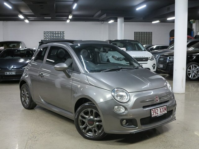 Used Fiat 500C Series 1 S Dualogic, 2013 Fiat 500C Series 1 S Dualogic Grey 5 Speed Sports Automatic Single Clutch Convertible