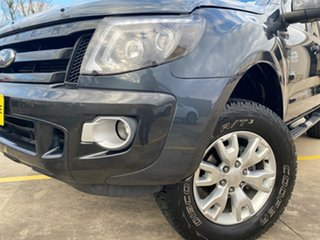 2012 Ford Ranger PX Wildtrak Double Cab Grey 6 Speed Sports Automatic Utility