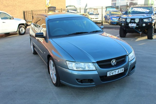 Used Holden Commodore VZ MY06 Executive, 2006 Holden Commodore VZ MY06 Executive Blue 4 Speed Automatic Wagon