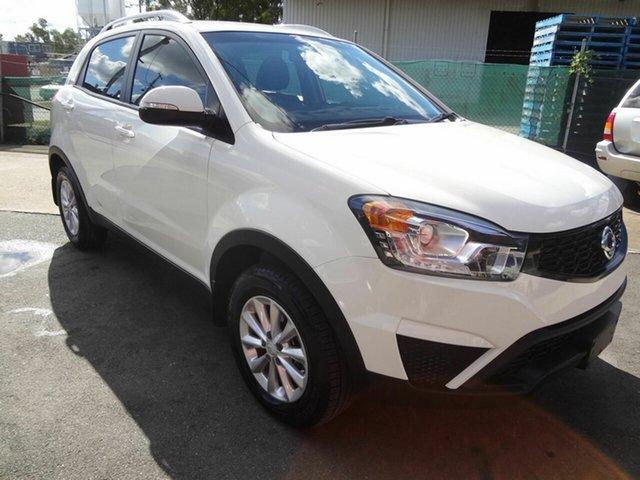 Used Ssangyong Korando C200 MY15 SX, 2015 Ssangyong Korando C200 MY15 SX White 6 Speed Automatic Wagon