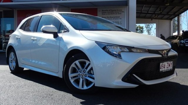 Demo Toyota Corolla Mzea12R Ascent Sport, Corolla Hatch Ascent Sport 2.0L Petrol Auto CVT 5 Door
