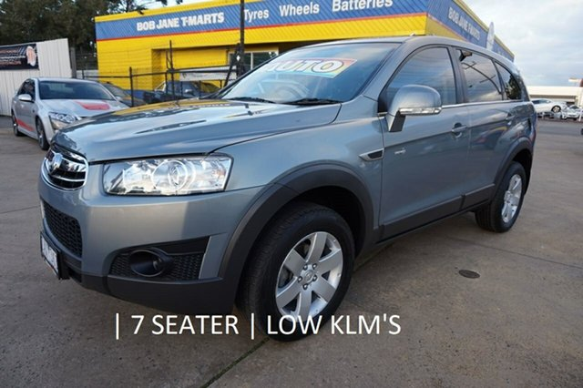 Used Holden Captiva CG Series II 7 SX, 2012 Holden Captiva CG Series II 7 SX Nitrate 6 Speed Sports Automatic Wagon