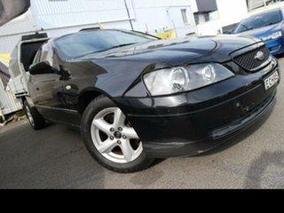 2004 Ford Falcon BA XL (LPG) Black 4 Speed Auto Seq Sportshift Cab Chassis.