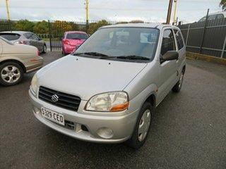 2003 Suzuki Ignis GA Silver 5 Speed Manual Hatchback.