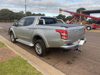 2017 Mitsubishi Triton MQ MY17 GLS (4x4) Stirling Silver 6 Speed Manual Dual Cab Utility