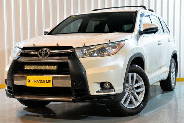 Used Toyota Kluger GSU55R GX AWD, 2016 Toyota Kluger GSU55R GX AWD White 8 Speed Sports Automatic Wagon