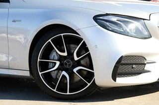 2017 Mercedes-Benz E-Class W213 E43 AMG 9G-Tronic PLUS 4MATIC Silver 9 Speed Sports Automatic Sedan.