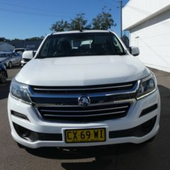 2017 Holden Colorado RG MY17 LS Pickup Crew Cab Summit White 6 Speed Sports Automatic Utility.