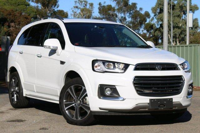 Used Holden Captiva CG MY18 LTZ AWD, 2017 Holden Captiva CG MY18 LTZ AWD White 6 Speed Sports Automatic Wagon