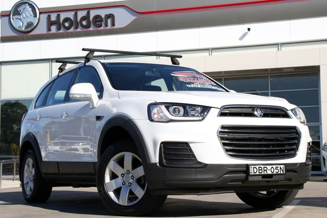 Used Holden Captiva CG MY16 LS 2WD, 2015 Holden Captiva CG MY16 LS 2WD White 6 Speed Sports Automatic Wagon