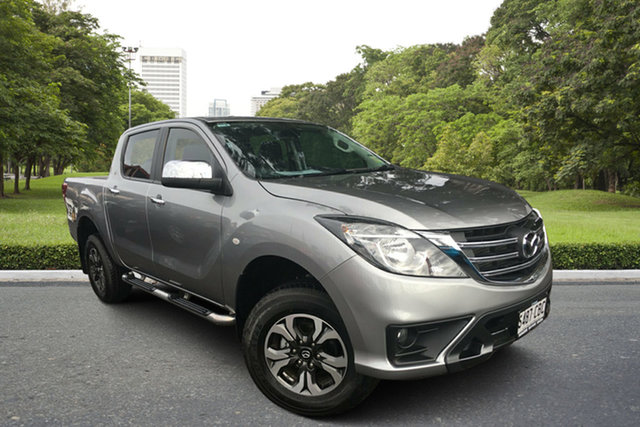 Used Mazda BT-50 UR0YG1 XTR, 2019 Mazda BT-50 UR0YG1 XTR Silver 6 Speed Sports Automatic Utility