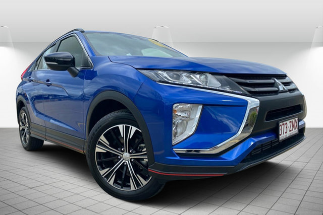 Used Mitsubishi Eclipse Cross YA MY18 ES 2WD, 2018 Mitsubishi Eclipse Cross YA MY18 ES 2WD Blue 8 Speed Constant Variable Wagon