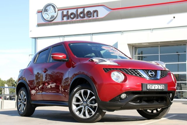 Used Nissan Juke F15 Series 2 ST X-tronic 2WD, 2016 Nissan Juke F15 Series 2 ST X-tronic 2WD Magnetic Red 1 Speed Constant Variable Hatchback