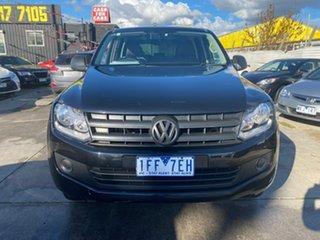 2015 Volkswagen Amarok 2H MY15 TDI420 4x2 Black 8 Speed Automatic Utility.