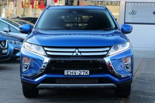 2018 Mitsubishi Eclipse Cross YA MY18 LS (2WD) Blue Continuous Variable Wagon