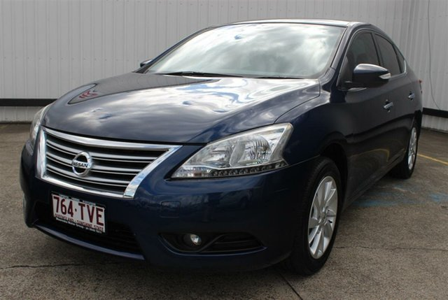 Used Nissan Pulsar B17 ST-L, 2013 Nissan Pulsar B17 ST-L Blue 1 Speed Constant Variable Sedan