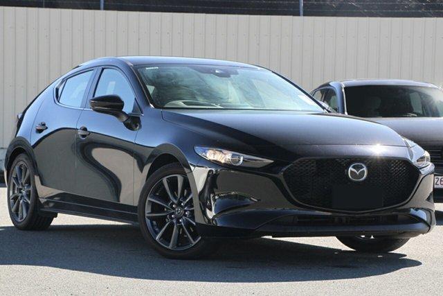 New Mazda 3 BP2HLA G25 SKYACTIV-Drive Evolve, 2019 Mazda 3 Mazda3 G25 SKYACTIV-Drive Evolve Jet Black 6 Speed Sports Automatic Hatchback