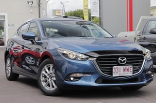 2016 Mazda 3 BM5478 Maxx SKYACTIV-Drive Blue 6 Speed Sports Automatic Hatchback.