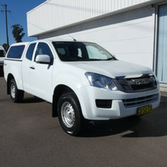 2015 Isuzu D-MAX MY15 SX Space Cab White 5 Speed Sports Automatic Cab Chassis.