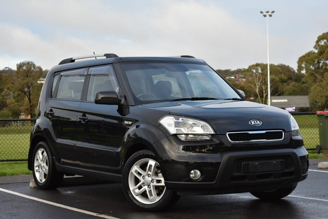 Used Kia Soul AM MY11 , 2011 Kia Soul AM MY11 Black 4 Speed Automatic Hatchback