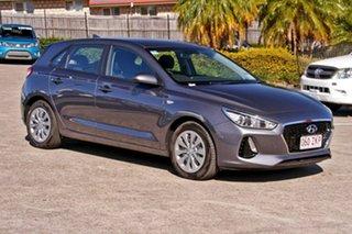2019 Hyundai i30 PD.3 MY20 Go Iron Grey 6 Speed Sports Automatic Hatchback.