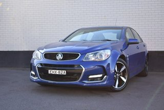 2017 Holden Commodore VF II MY17 SV6 Blue 6 Speed Sports Automatic Sedan.