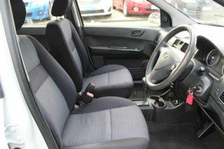 2009 Hyundai Getz TB MY09 SX White 4 Speed Automatic Hatchback