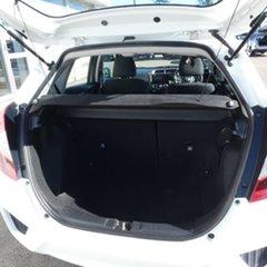 2015 Honda Jazz GF MY15 VTi White 1 Speed Hatchback