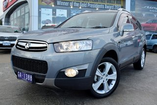 2012 Holden Captiva CG Series II 7 AWD LX Grey 6 Speed Sports Automatic Wagon.