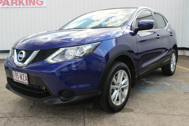 Used Nissan Qashqai J11 ST, 2016 Nissan Qashqai J11 ST Blue 1 Speed Constant Variable Wagon