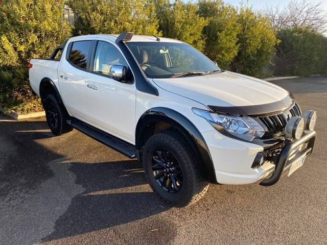 Used Mitsubishi Triton MQ MY17 GLS Double Cab Sports Edition, 2017 Mitsubishi Triton MQ MY17 GLS Double Cab Sports Edition White 6 Speed Manual Utility