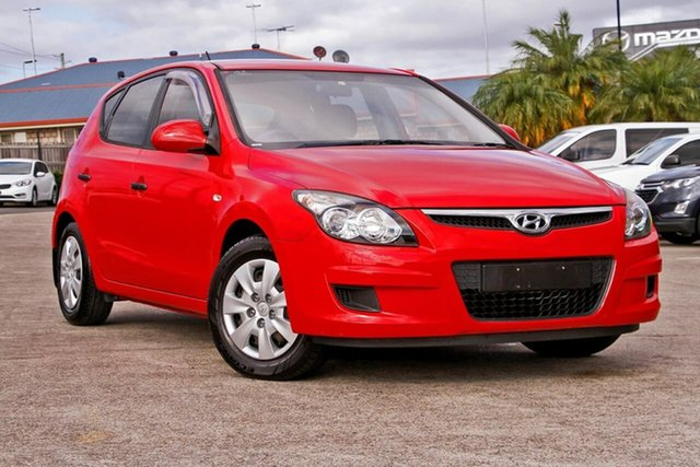 Used Hyundai i30 FD MY11 SX, 2011 Hyundai i30 FD MY11 SX Red 5 Speed Manual Hatchback